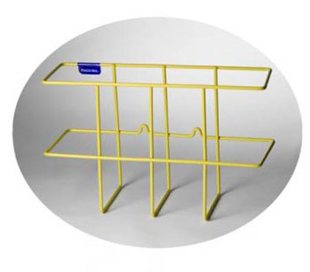 Rackem™, Binder Rack, Yellow, Mounting Screws