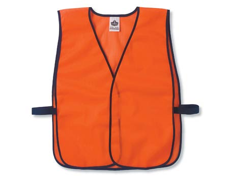 GloWear®, High Visibility Non-Certified Economy Vest, Polyester Mesh,