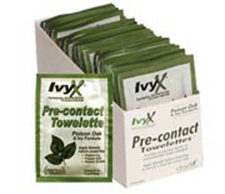 IvyX™ Anti-Itch Relief Wipe for Poison Ivy & OakIvyX™ Anti-Itch Relief Wipe for Poison Ivy &