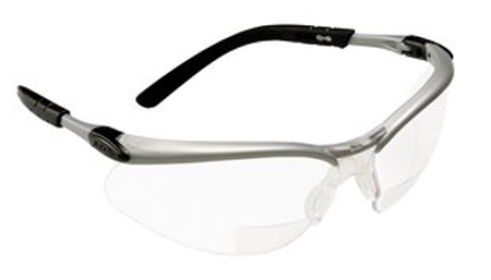 3M™ BX™ Bifocal Magnified Safety Glasses 11376-00000-20 +2 5