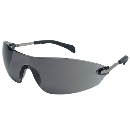 MCR Safety S2212 Blackjack Elite Safety Glasses, Gray