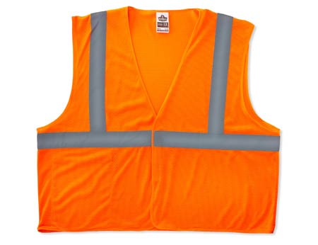 GloWear®, High Visibility Class 2 Econo Vest, Polyester