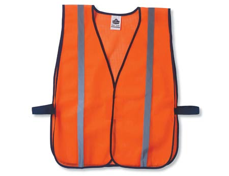 GloWear®, High Visibility Non-Certified Standard Vest, Polyester Mesh