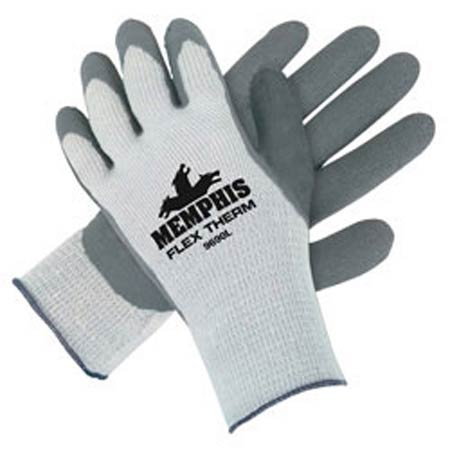 MCR 9690 Gray Latex Palm FlexTherm® Work Gloves