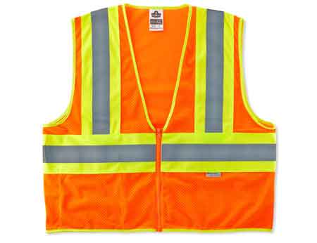 GloWear®, High Visibility Class 2 Two-Tone Vest, Polyester