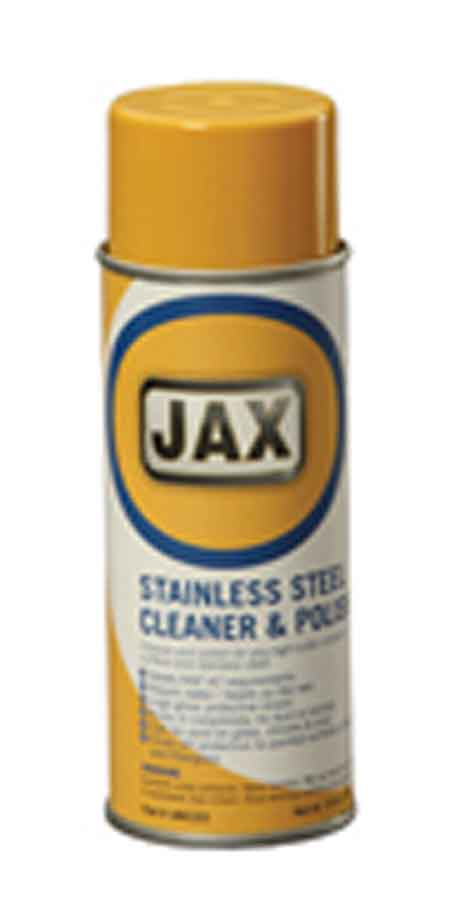 Stainless Steel Cleaner, Liquid, Aerosol Can, 16 oz