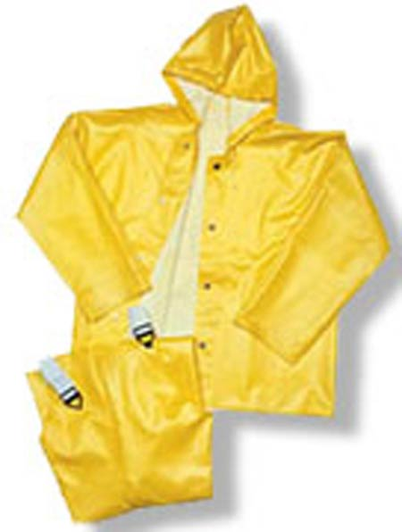 Tingley® American™ O32007 Yellow PVC Plain Front Overalls