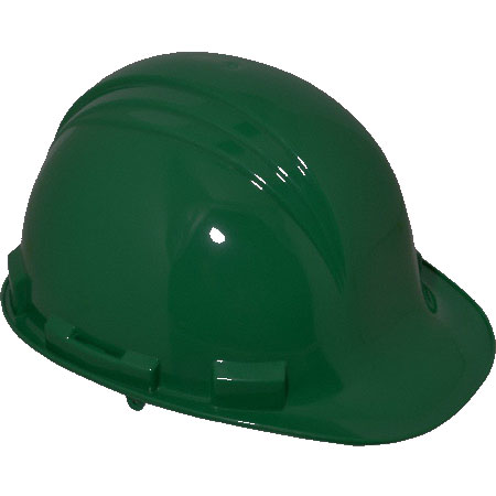 Honeywell North A29R Front Brim Hard Hat, Green