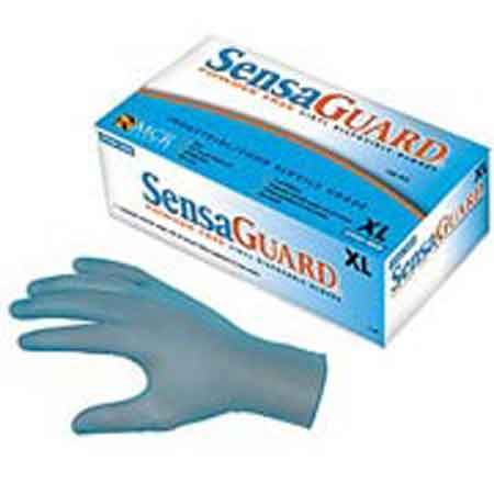 Tronex® New Age® 8650 Blue Vinyl Disposable Gloves,