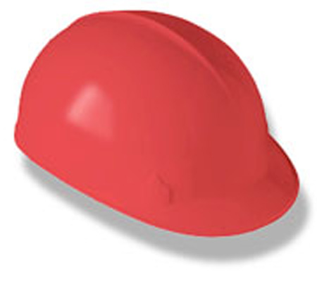 Kimberly Clark Jackson Safety® 14815 4-Point Red Bump CapKimberly Clark Jackson Safety® 14815 4-Point Red Bump