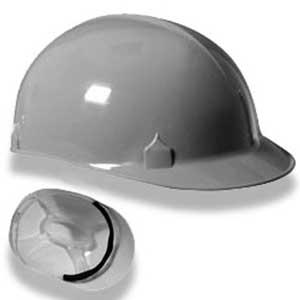 jackson safety bump cap 4 point pin lock gray 6 1 2