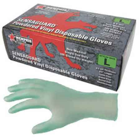 SensaGuard™, Disposable Gloves, Vinyl, Smooth