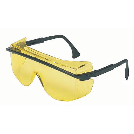 Uvex®, Safety Glasses, Polycarbonate, Amber, Scratch-Resistant
