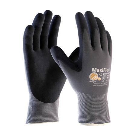 MaxiFlex® 34-874 Black Micro-Foam Nitrile Coated Gloves