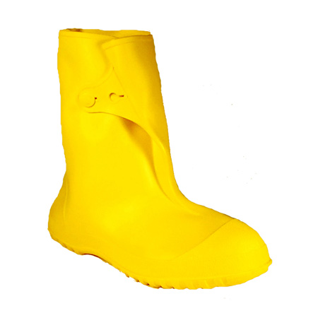 """35123.XL 10"""" Cleated Outsole PVC Work Boot X-Large Yellow"""