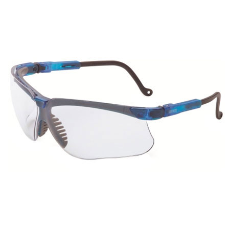 Uvex S3240 Genesis Safety Glasses, Vapor Blue Frame