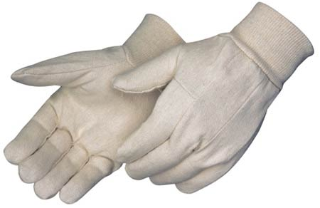 Cotton Gloves, Cotton Canvas, White, Universal