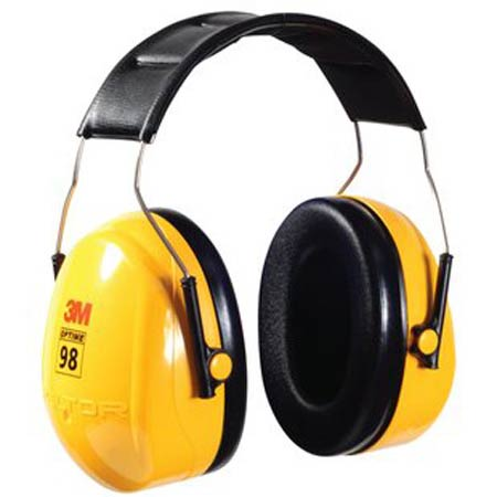 3M™ Peltor™ H9A Earmuff, Yellow, Over the Head,