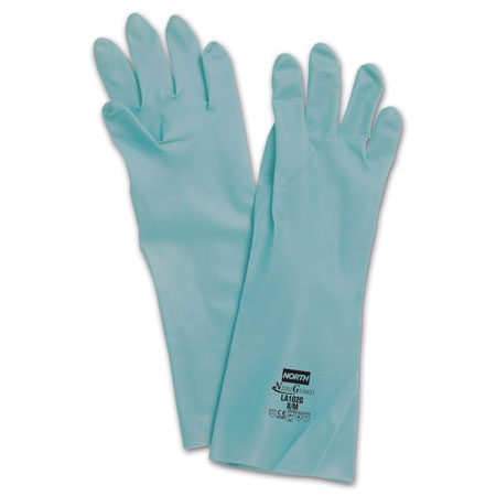 Honeywell North® LA102G Chemical-Resistant Nitrile Gloves