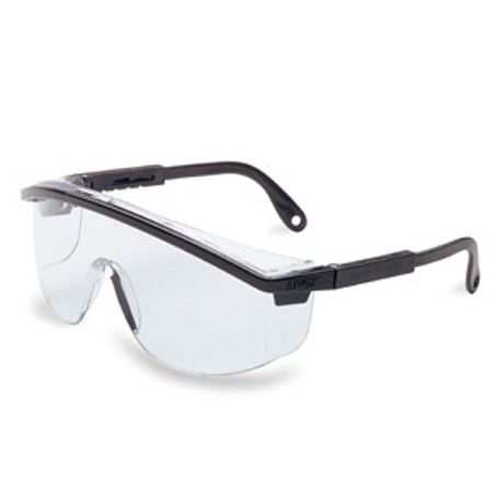 Uvex S1359 Astrospec 3000 Safety Glasses, Black Frame