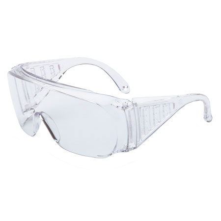 Uvex®, Safety Glasses, Polycarbonate, Clear, Anti-Fog, Clear Frame