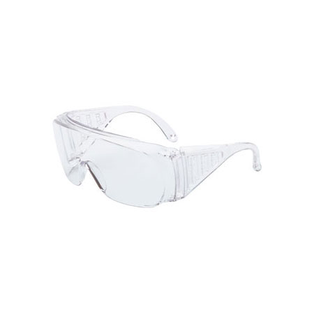 Uvex®, Safety Glasses, Polycarbonate, Clear, Scratch-Resistant, Framed, Clear