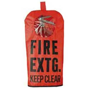 Keller Fire XT5W Fire Extinguisher Cover, 5 to