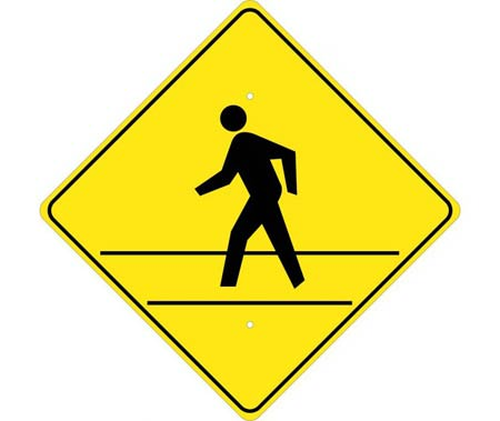 Pedestrian and Crosswalk Signs