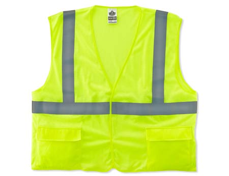 GloWear®, High Visibility Class 2 Standard Vest, Polyester
