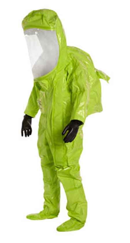 DuPont™ Tychem® TK554T Encapsulating Level A Suit
