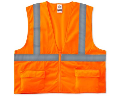 GloWear®, High Visibility Class 2 Standard Vest, Solid