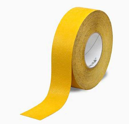 Safety-Walk™, Anti-Slip Tape, Yellow, Solid Color, 60 ft,