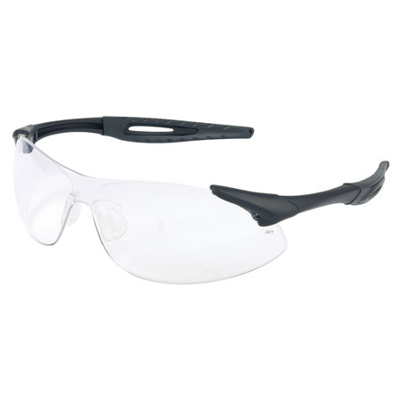 MCR Safety IA110 Inertia Safety Glasses, Clear Lens,