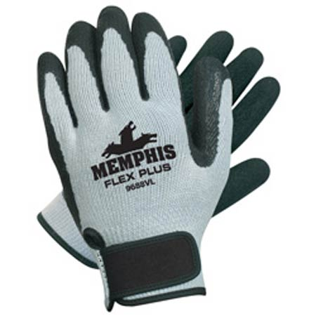 FLEXTUFF® II, Latex Dipped Gloves, Cotton / Polyester