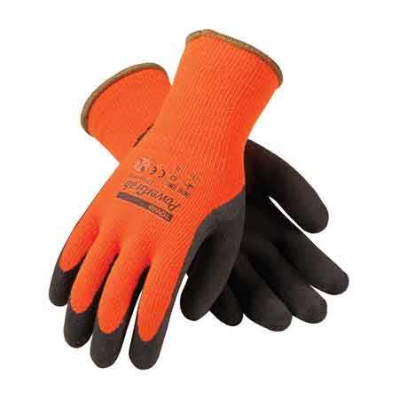 Pip 174 Powergrab Thermo 41 1400 Hi Vis Latex Insulated Gloves