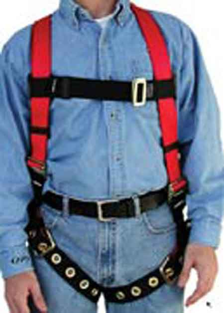 FP Pro®, Full Body Harness, Vest, Polyester, Non-Stretch