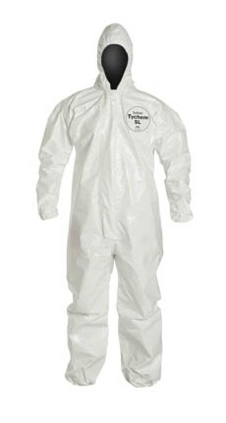 DuPont™ Tychem® 4000 SL127TWH Coverall Hooded
