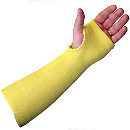 MCR 9374T Yellow Kevlar Sleeve With Thumb Hole