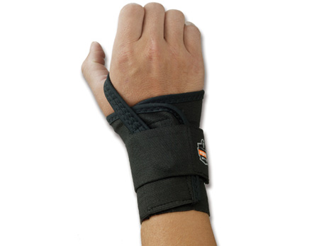 ProFlex®, Wrist Support, Hook & Loop, Tan, Elastic,