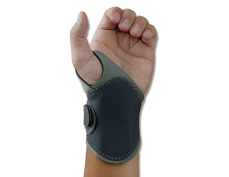ProFlex®, Wrist Support, Gray, Neoprene, Right Hand, Large