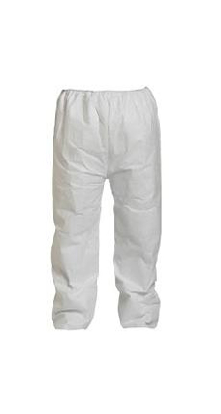 DuPont™ Tyvek® 400 White Polyethylene Pants, X-Large
