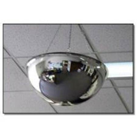 Fred Silver® DOME-X-48 Acrylic Shatter-Resistant Safety Dome MirrorFred Silver® DOME-X-48 Acrylic Shatter-Resistant Safety Dome MirrorFred