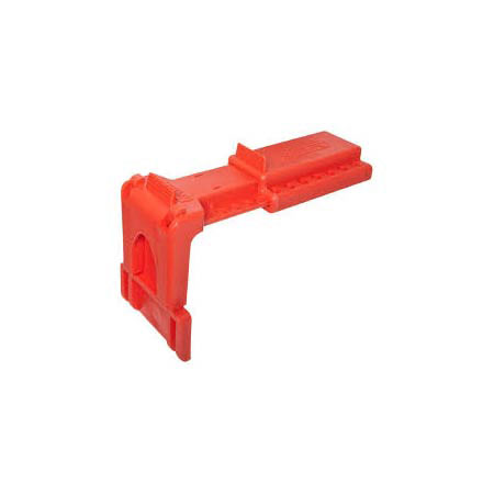 B-Safe North Valve Lockout, Red Ball Valve Lockout,