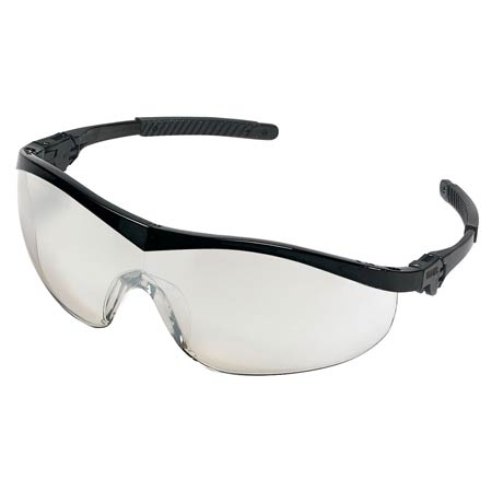74fb6cd2c6b5 MCR Safety ST119 Storm Safety Glasses, Clear Mirror Lens