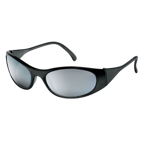 MCR Safety F2117 Frostbite 2 Safety Glasses, Silver