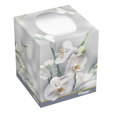 Kimberly-Clark® Kleenex® KC21270 Facial Tissue, White, 2-ply