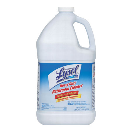 Professional Lysol Disinfectant Bathroom Cleaner Liquid