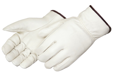 Liberty H6130 Grain Cowhide Driver's Gloves with Straight