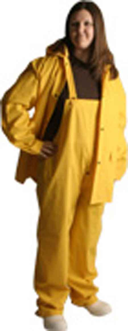 Cordova Stormfront™ RS353Y 3-Piece PVC/Polyester Yellow Rain Suit