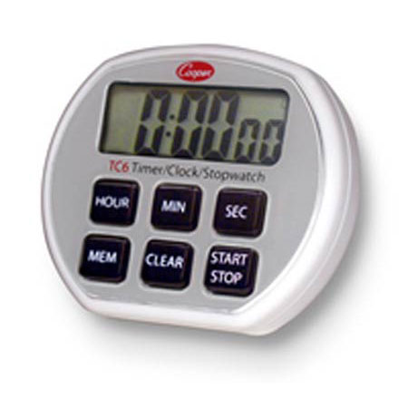 6 button electronic timer clock stopwatch
